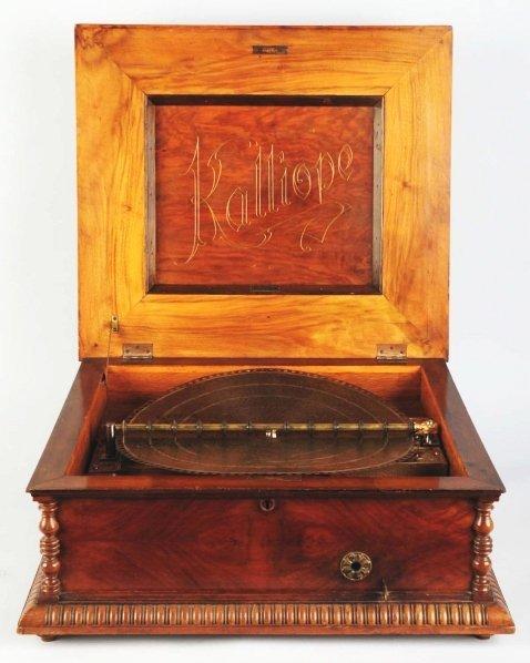 """15: Kalliope 17"""" Disc Table Model."""