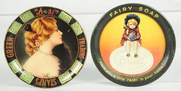 411: Fairy Soap & S&H Green Stamps Tip Trays.