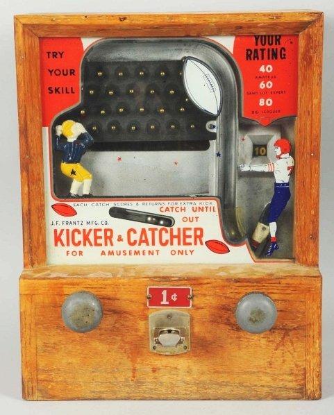 610: Kicker & Catcher 1-Cent Countertop Skill Game.