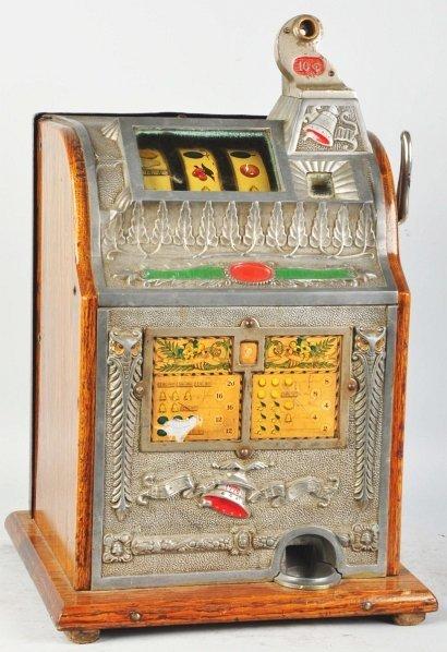 615: Mills 10¢ COK Coin-Op Machine.