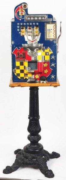 618: Mills Castle Front 25-Cent Slot Machine.