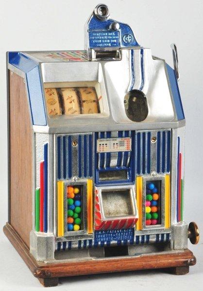 623: Jennings Duchess 1¢ Coin-Op Gumball Machine.