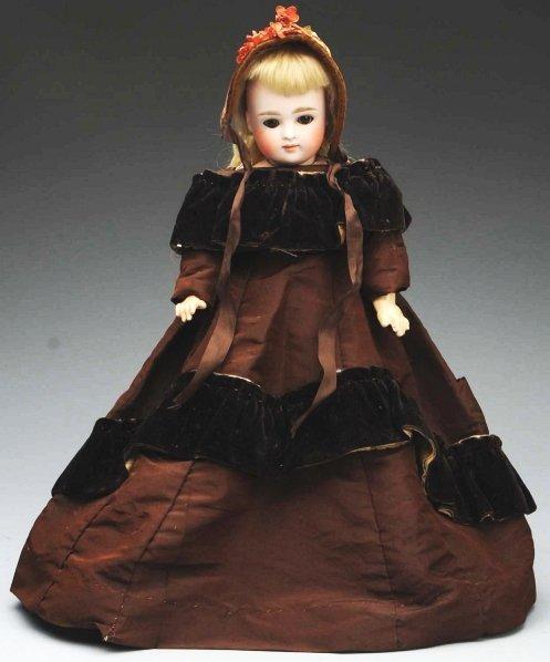 5: Sweet Kestner Child Doll.