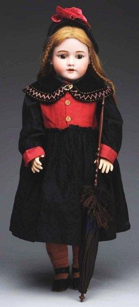 8: Pretty Handwerck Child Doll.