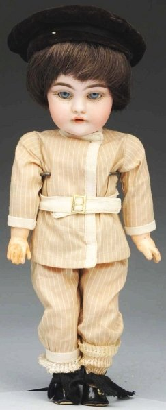 9: Saucy Kestner Child Doll.