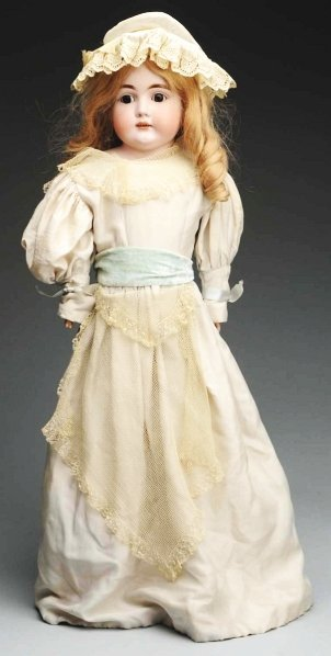 20: Lovely German Bisque Child Doll.