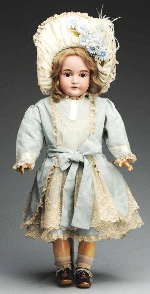 22: Pretty Kestner Child Doll.