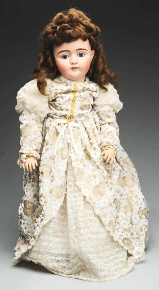23: Lovely German Bisque Child Doll.
