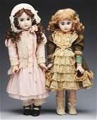 64: Lot of 2: Artist Dolls.