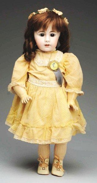 171: Dramatic Simon & Halbig 929 Child Doll.
