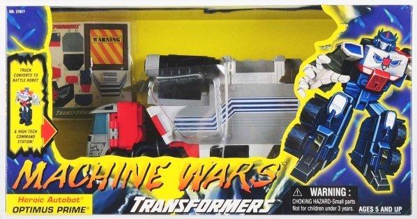 633: Transformers Machine Wars Optimus Prime AFA 85.