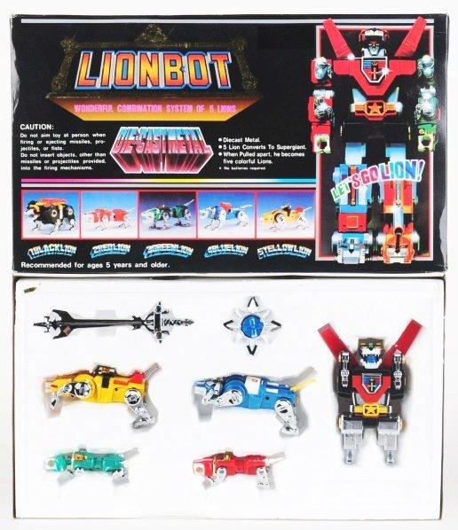771: Rare Medium Lionbot (Voltron III).