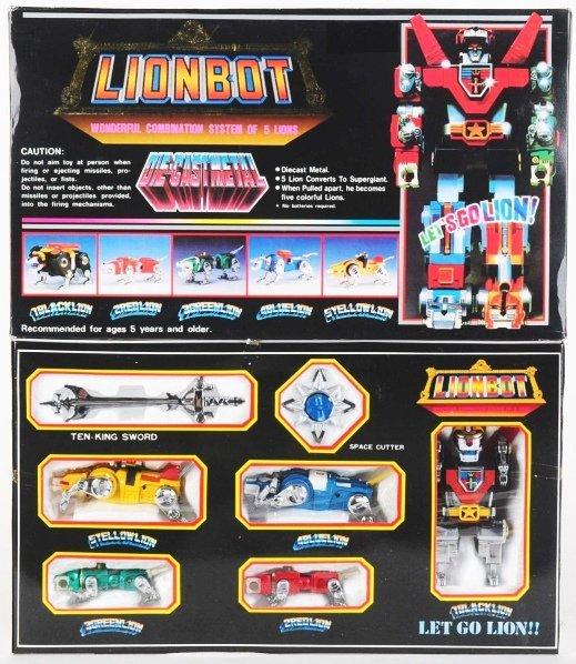 771: Rare Medium Lionbot (Voltron III). - 2