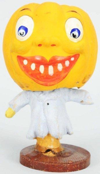 902: Halloween Pumpkin Head Nodder.