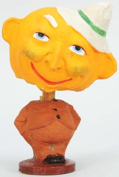 906: Halloween Man with Hat Nodder.