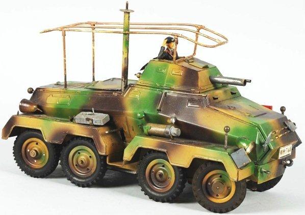 1105: Hausser Eight-Wheeled Armored Car.