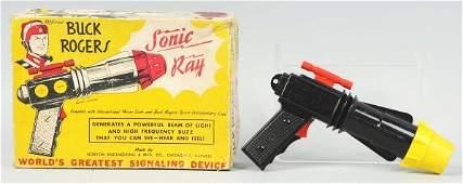 1693: Buck Rogers Sonic Ray Pistol Toy.
