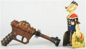 1704: Lot of 2: Toy Character Items.