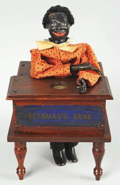 1918: Freedman's Mechanical Bank.