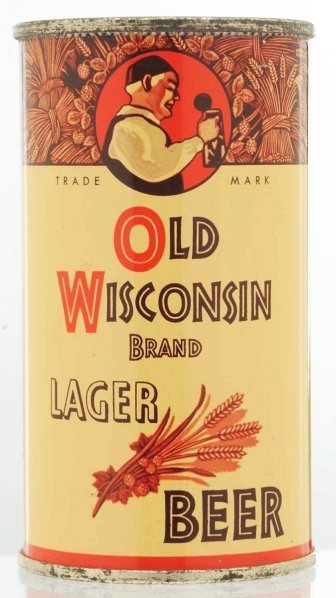 10: Old Wisconsin Brand Lager Instructional Beer Can.