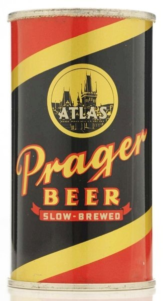 803: Atlas Prager International Beer Can.