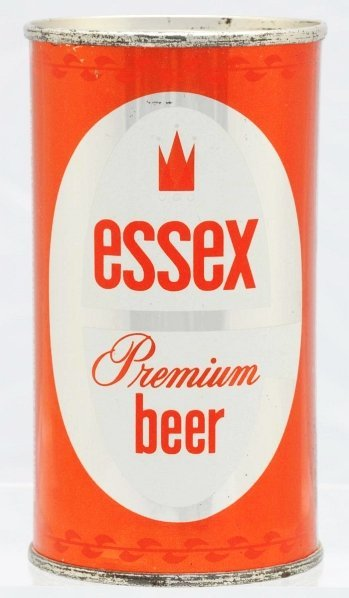 807: Essex Beer Flat Top Beer Can.*