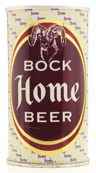 817: Home Bock Beer Zip Top Beer Can.*