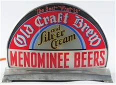 1152 Old Craft Brew Menominee Beers Gillco Sign