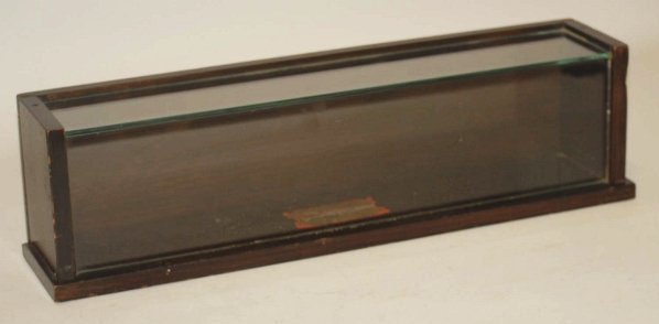 8: Small Glass & Wood Counter Display Case.