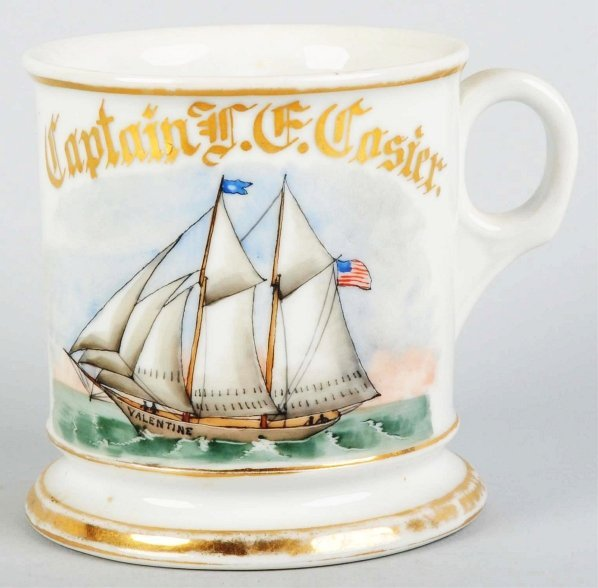 9: Sailboat Shaving Mug.