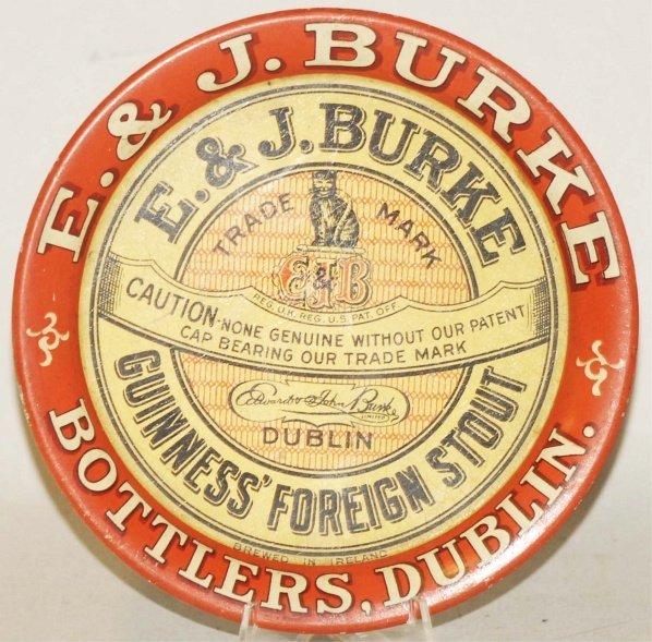 18: E & J Burke Tip Tray.