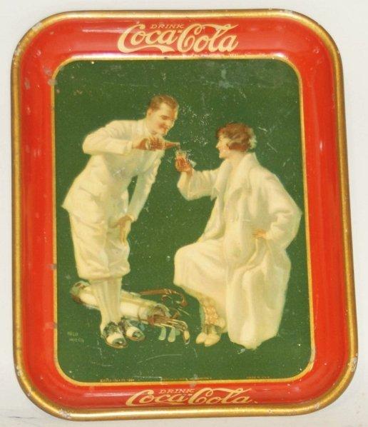 34: 1926 Coca-Cola Serving Tray.