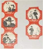 291 Lot of 2 Scarce Bond Bread Advertising Labels