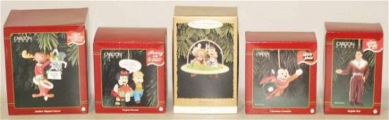 488 Lot of Hallmark Christmas Ornaments in Boxes
