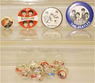 513 Lot of 14 Vintage Beatles Items