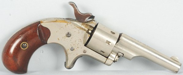 240: Colt Pocket .22 Revolver.
