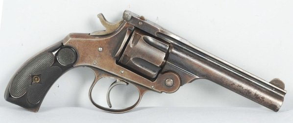 243: Hopkins & Allen Tip-Up .38 Revolver.