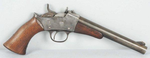245: Remington Target-Rolling Block .22 Pistol.