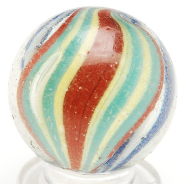 3: Naked Double Ribbon Swirl Marble.