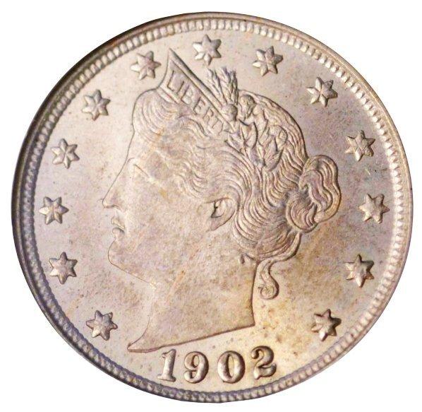 22: 5C 1902 NGC MS64 OH.