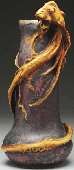 1: Amphora Sea Monster Vase.