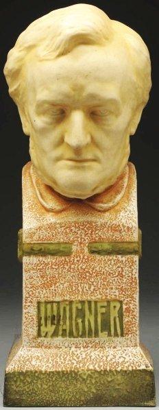 11: Amphora Ceramic Wagner Bust.
