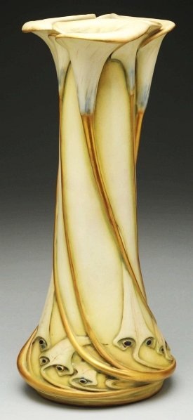 13: Paul Dachsel Calla Lily Vase.