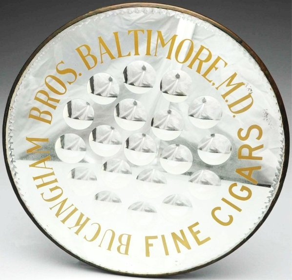 605: Buckingham Bros. Baltimore, MD Cigar Mirror.