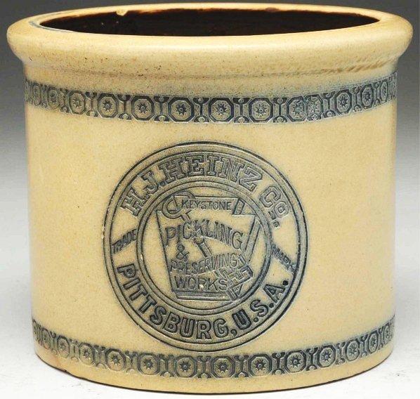 613: Heinz Stoneware Pittsburgh Crock.