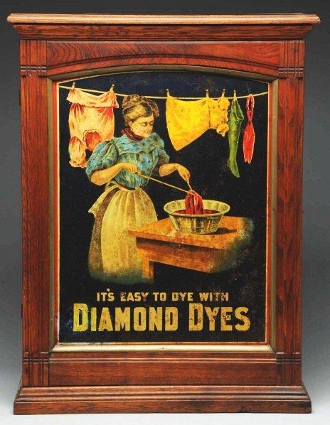 615: Diamond Dyes Dye Cabinet.