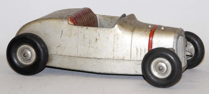 2: Pressed Steel All American Hot Rod Toy.