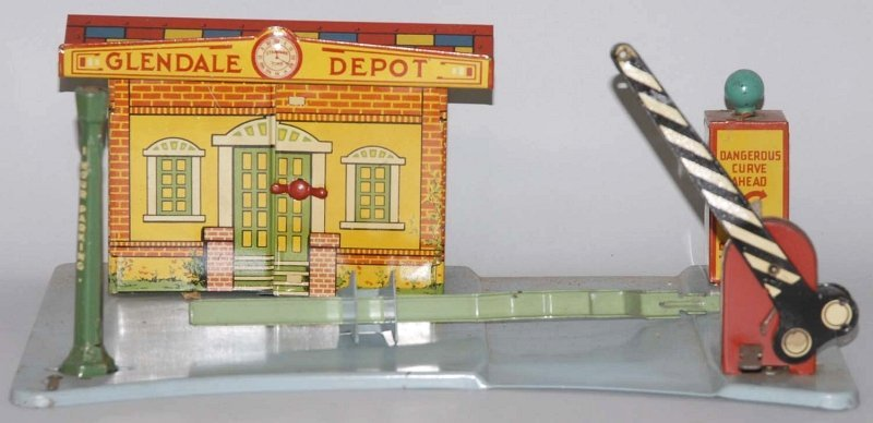 5: Marx Lighted Railroad Station.