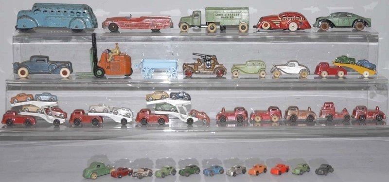 94: Large Lot of Vintage Vehicle Toys.