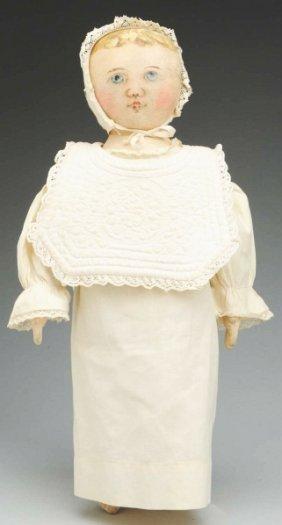 "3: Rare ""Columbian"" Cloth Doll."